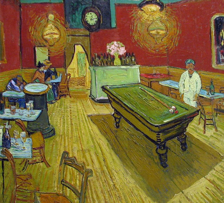 The Night Cafe Karya Van Gogh.